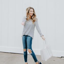 Wearing my Heart on my Sleeve to Celebrate Sabby Style Turning FOUR + Nordstrom Gift Card Giveaway