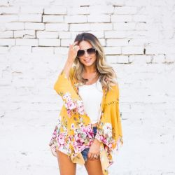 33 Things About Me for My 33rd Birthday + Stunning Yellow Kimono!