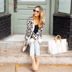 Cozy Leopard Sweater to Live in All Fall Long + Life Update