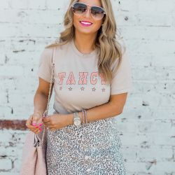 $250 Sugar Boutique Giveaway + a ** FANCY ** Under $40 Graphic Tee