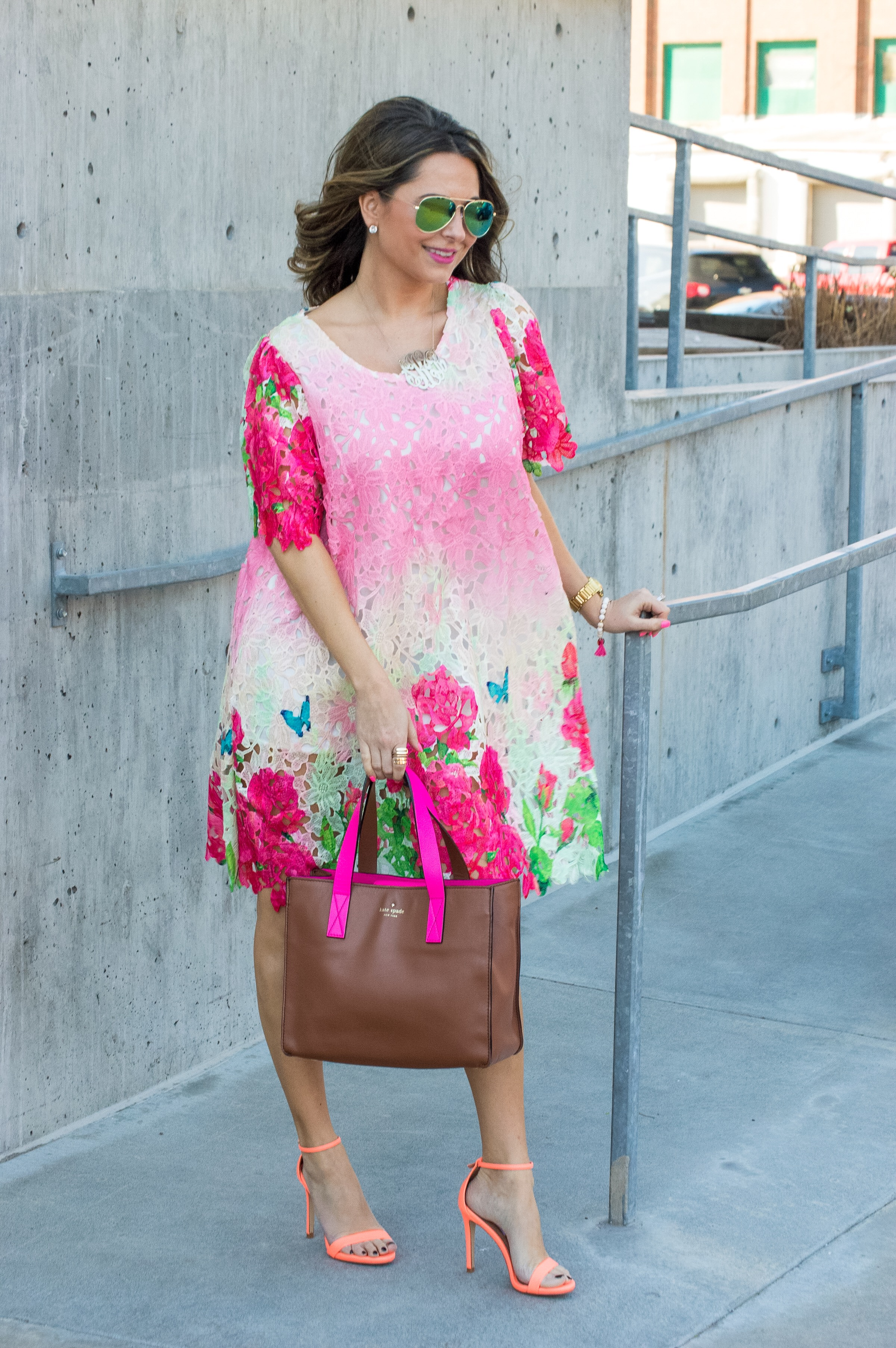 Spring Floral Party Dress - Sabby StyleSabby Style