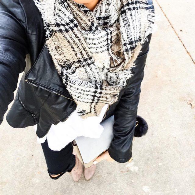 My scarf jacket amp jeans were favorites last winter andhellip