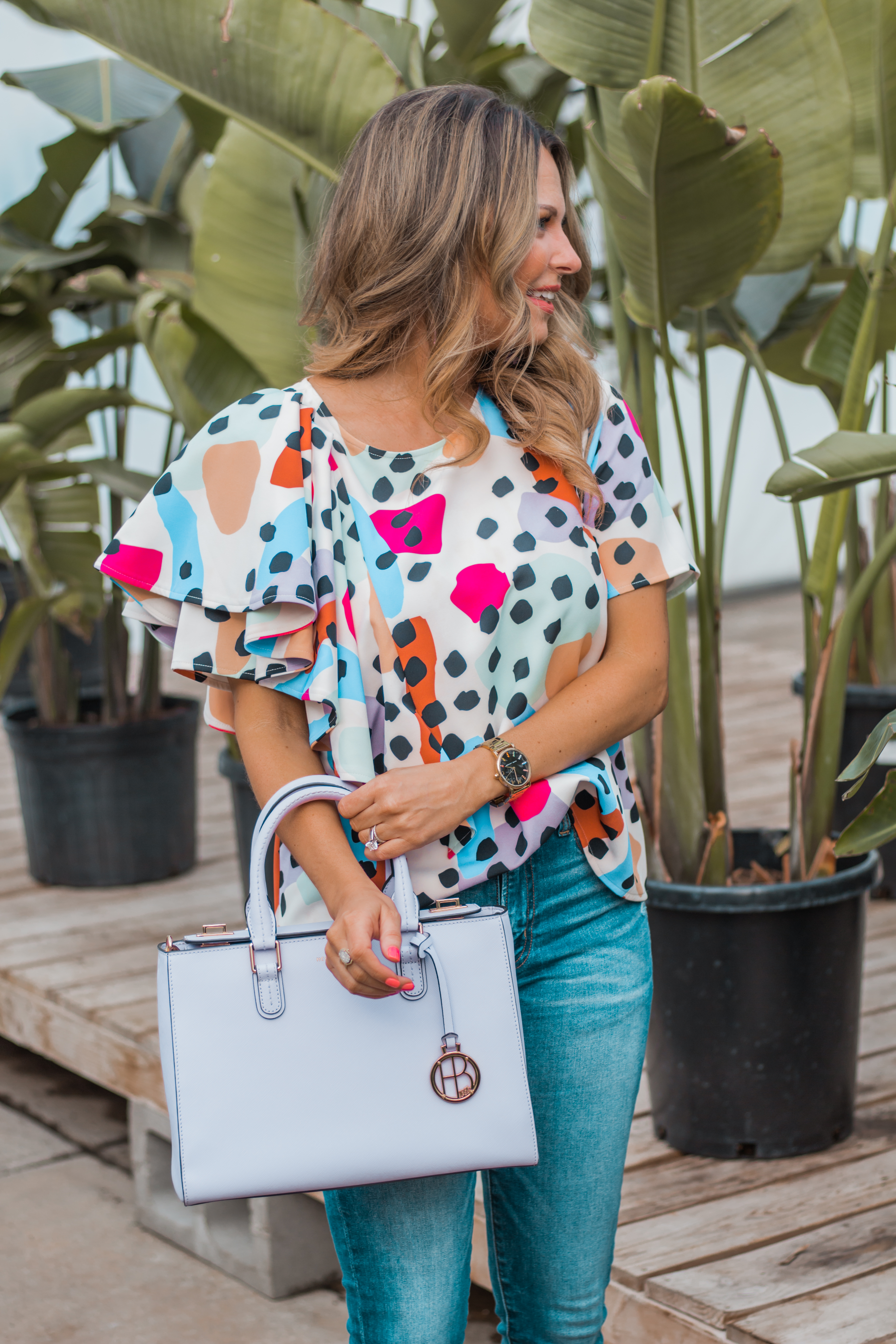 Women's Fashion - Crosby by Mollie Birch - Tassel Earrings - Spring Fashion - Spring Outfit - Sabby Style - 9