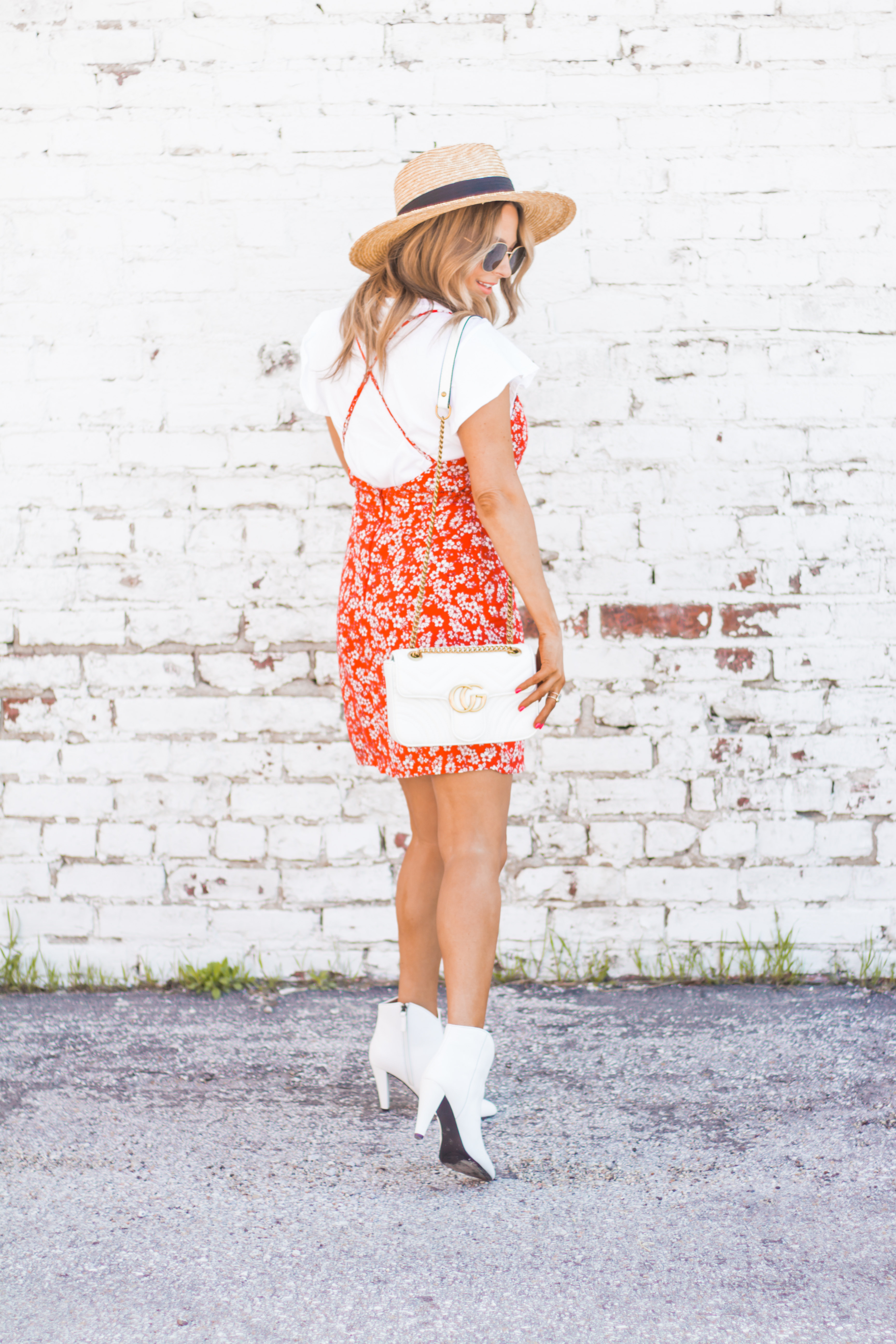 red-sundress-spring-summer-dress-floral dress-women's fashion- spring fashion-summer fashion-brixton hat-white booties-Omaha blogger-sabby style-14
