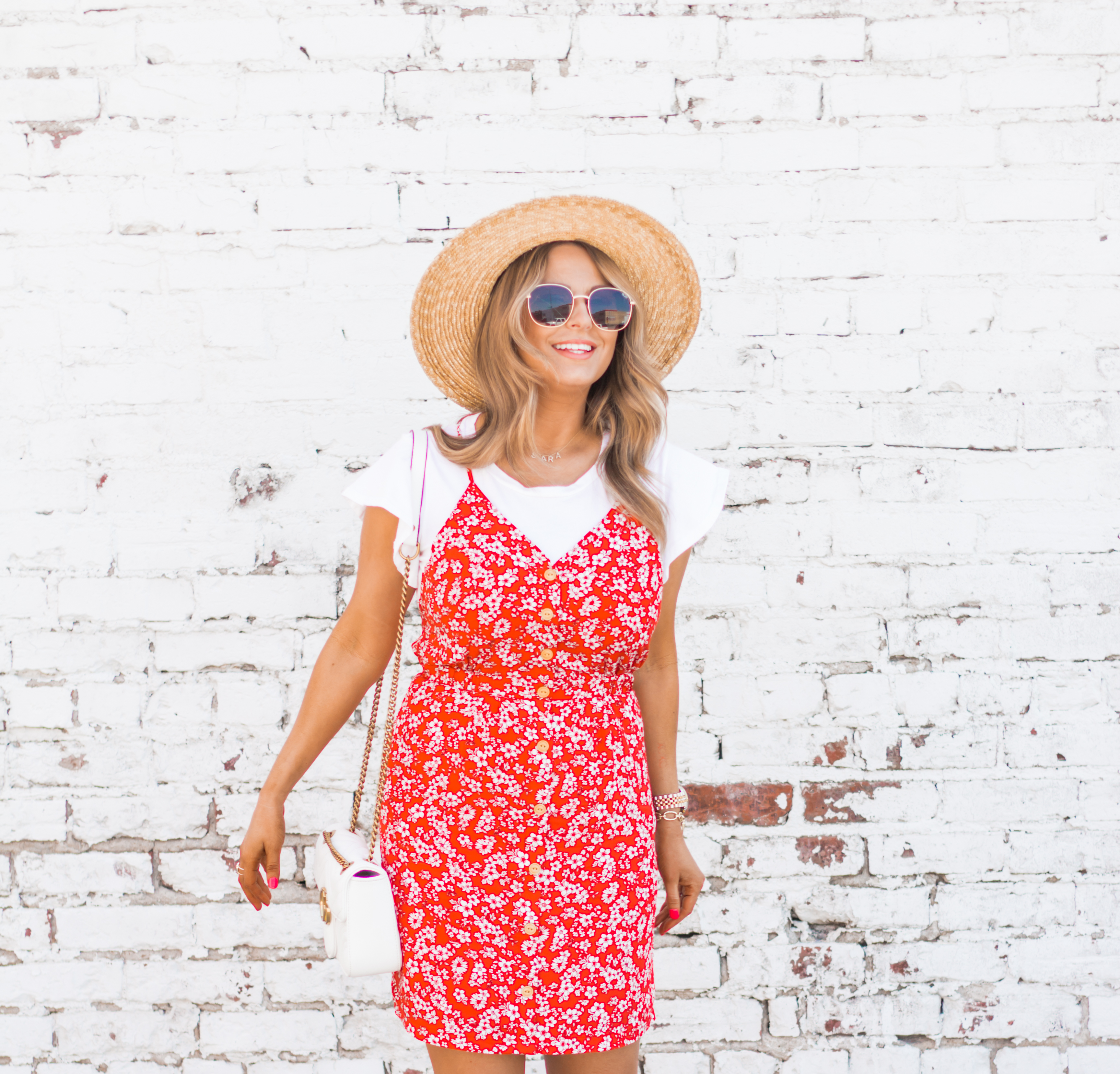 red-sundress-spring-summer-dress-floral dress-women's fashion- spring fashion-summer fashion-brixton hat-white booties-Omaha blogger-sabby style-13